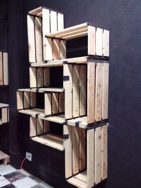 librero wiki como hacer librero reciclado huacalli rectangular de