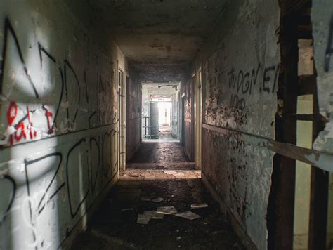 downeys creepy abandoned asylum los