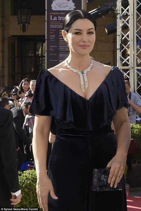 monica bellucci opera monica bellucci oozes glamour at sofia coppola s opera la
