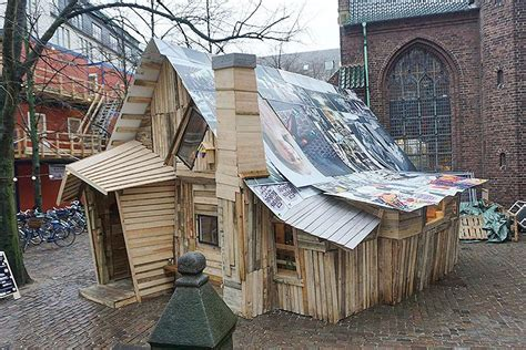 trash house see how thousands in denmark are making christmas gifts