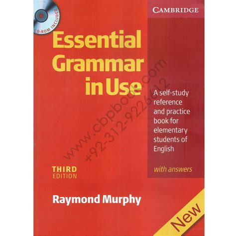 Buku Grammar In Use With Answer Raymond Murphy cambridge essential grammar in use third edition raymond