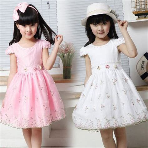 Neana Dress B02 By Zizara new princess children dress dress lovely floral