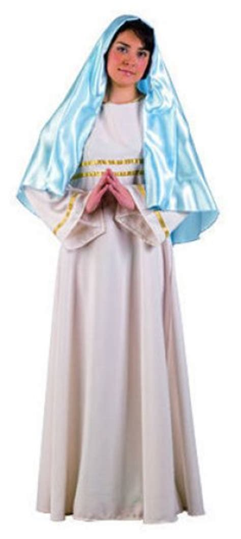 imagenes de vestuario virgen maria disfraz de virgen talla s