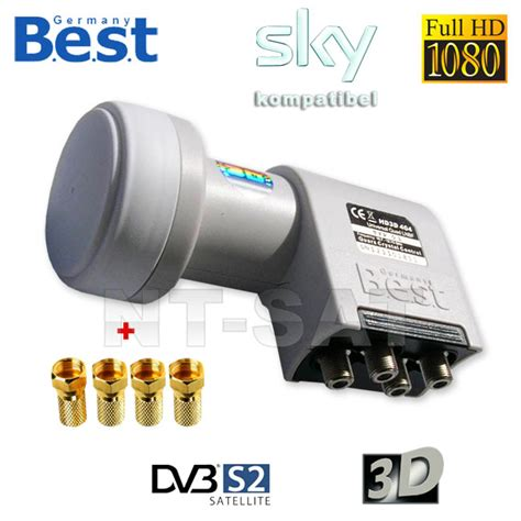 best lnb lnb best germany noise factor only 0 1db hdtv hd