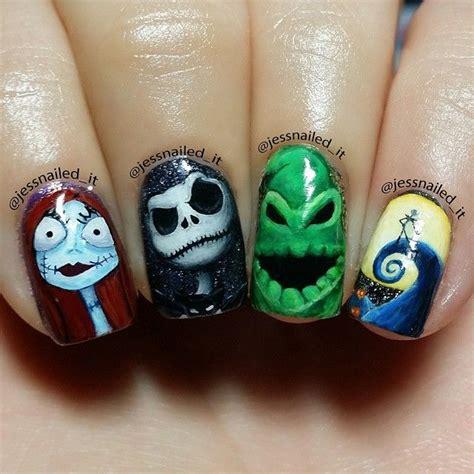 Nightmare Before Nail Designs