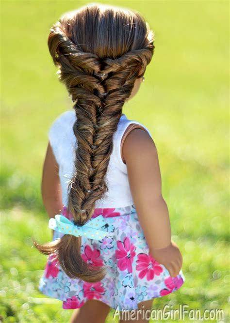 Hairstyle Doll by Doll Hairstyle Topsy Turvy Faux Fishtail Braid