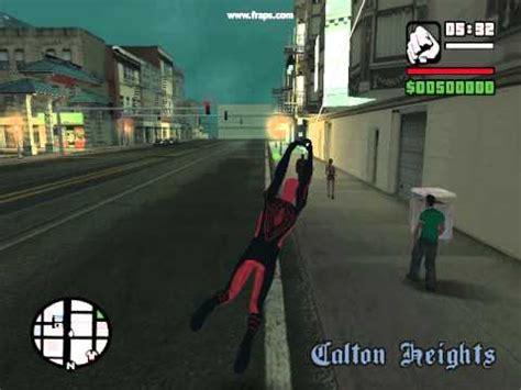 gta san andreas the amazing spiderman mod web shoot
