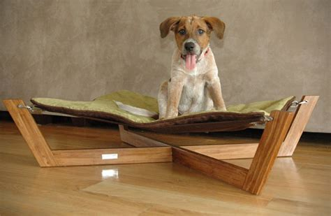 dog hammock bed comfortable bamboo hammock dog bed