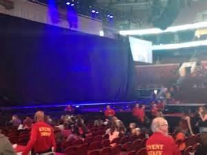 Section 124 Fargo Center by Fargo Center Section 124 Row 1 Seat 10 Selena Gomez Tour Tour Shared
