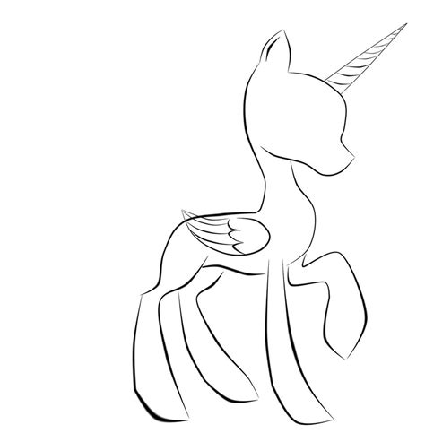 blank   pony coloring pages  coloring library