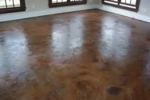 Stamped Concrete Patio Pros And Cons Basement Remodeling Ideas Concrete Basement Floor