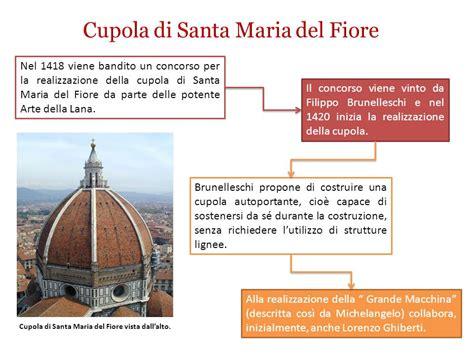 filippo brunelleschi cupola di santa fiore cattedrale di santa fiore ppt