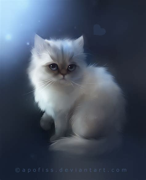 painting kitten yes maybe no by apofiss on deviantart