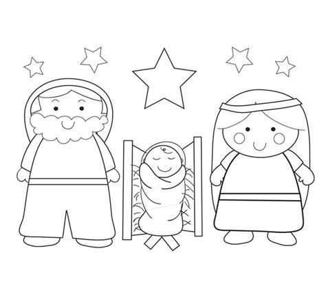 dibujos navideños para colorear portal belen m 225 s de 1000 ideas sobre nacimiento del ni 241 o jesus en pinterest