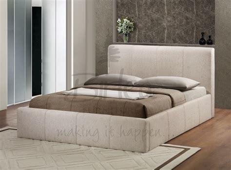 ottoman double bed frame birlea brooklyn wheat fabric 4ft small double ottoman bed