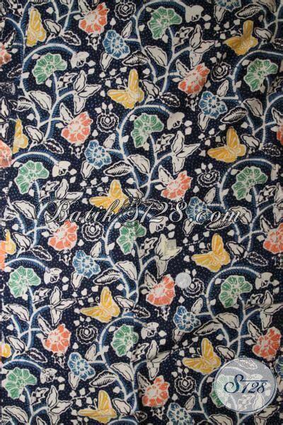 Dress Kemeja Wanita 341 batik bahan warna biru dongker cocok untuk kemeja pria dan