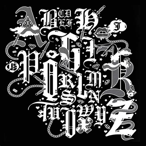 Black Letter Pdf Blackletter Font Booklet Design By Leo X Zhao At Coroflot