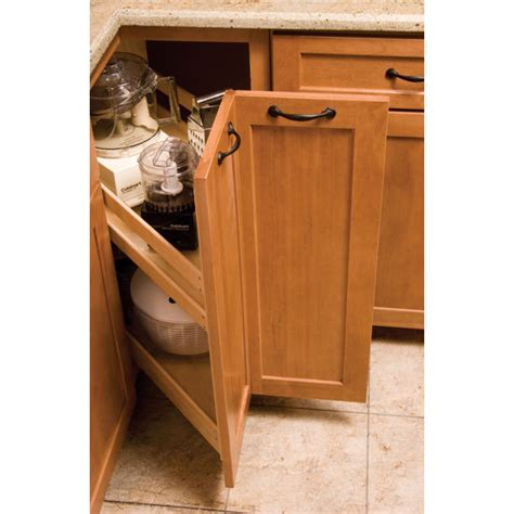 kitchenmate pull out corner cabinet organizer by omega