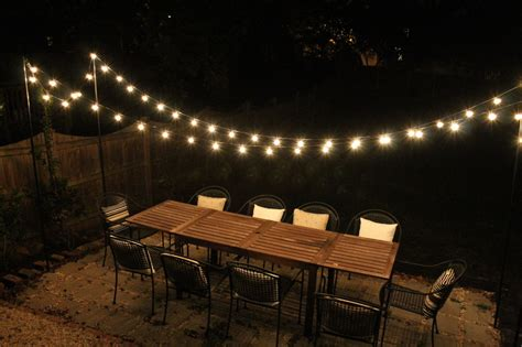backyard string lights diy projects elizabeth burns design raleigh nc interior