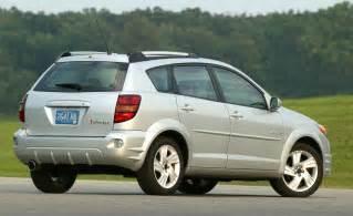 Pontiac Vibe 2006 Car And Driver