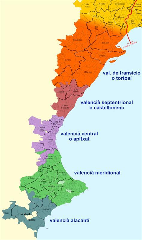 valencia y comunidad valenciana 8497760484 valenciano wikipedia la enciclopedia libre