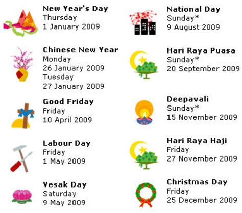 singapore public holiday 2014 [printer friendly] — sgcgo