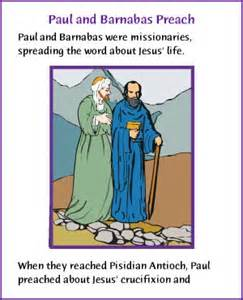 Blind Barnabas In The Bible Paul And Baranabas Preach Story Kids Korner Biblewise