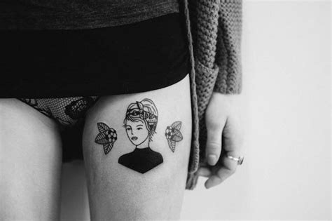 tattoo designs quirky whimsical tattoos featuring simple stylish and quirky