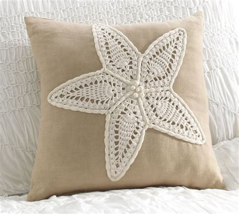Pottery Barn Decorative Pillows by Crochet Starfish Decorative Pillow Pottery Barn