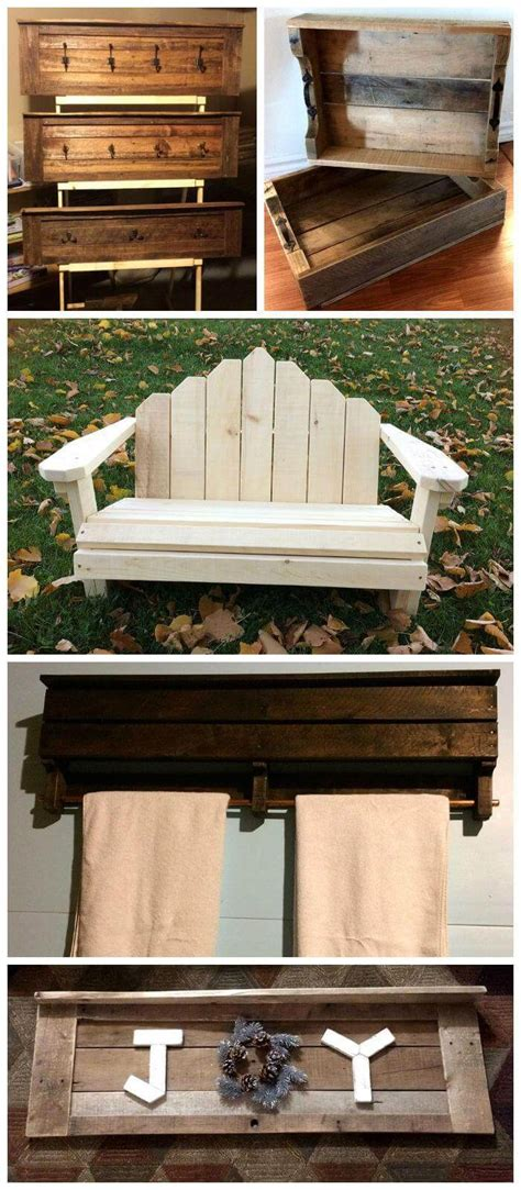 furniture diy pallet projects  exciting material ideas