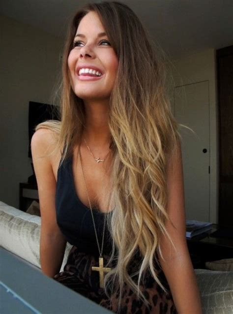 ombre dirty blonde to brown images pretty brown to blonde ombre hair color hairstyles weekly
