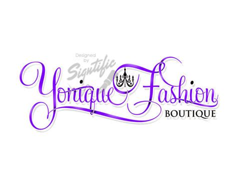 free logo design for boutique fashion boutique logo couture logo custom logo with
