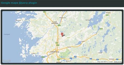 jquery google maps for mobile device