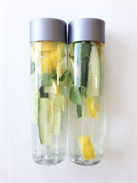 Fruit Water Detox Bottle by How To Make The Best Out Of Voss Water With Fruit New