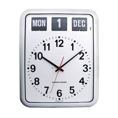 date on day day and date clock for alzheimer s easy read wall clock
