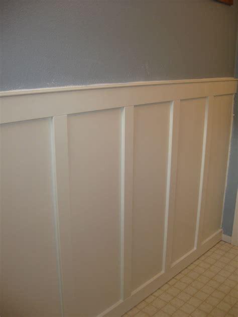 Paneling For Bathroom Walls by Handy Honey Board And Batten Bathroom