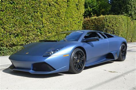 Blue Lamborghini For Sale For Sale Ad Personam Matte Blue 2009 Lamborghini
