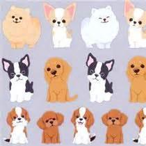 Kawaii animal dog puppy stickers by q lia sticker sheets sticker