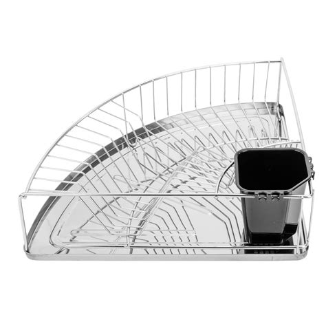 Corner Dish Rack by Wenko Inc Corner Dish Rack Reviews Wayfair Ca