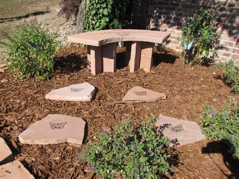 memorial garden benches stone garden memorial the healing power of flowers cedar valley