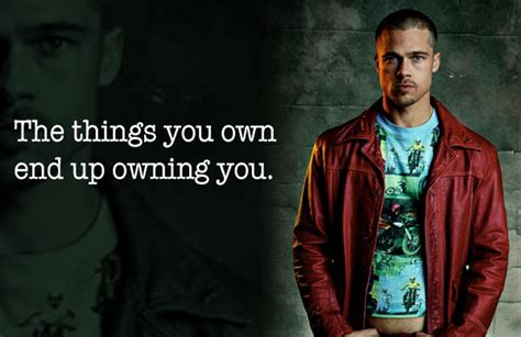 Things You Own 9 lessons with durden