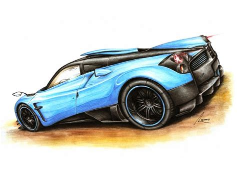 pagani drawing pagani huayra quota by medvezh on deviantart