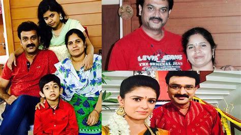 chakravakam serial heroine photos muddha mandaram and chakravakam serial actor suresh family