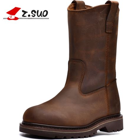 quality motorcycle boots z suo women s boots leather motorcycle boots high