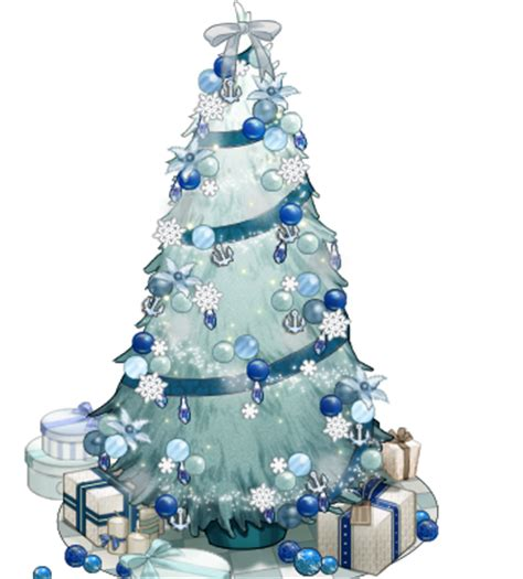 image white and blue christmas tree png kancolle wiki