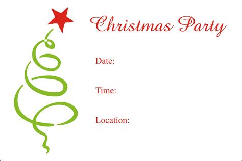 design party invitation free free printable christmas party invitations templates