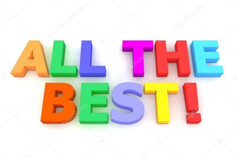 all the best colourful all the best stock photo 169 pixbox 4080727