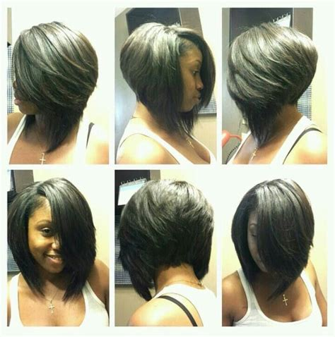 swing bob for african american hair 516 best bob cuts images on pinterest make up looks