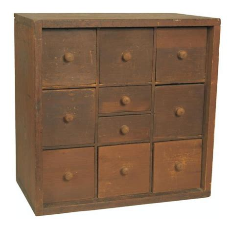 dresser with lots of little drawers small 10 drawer apothecary chest