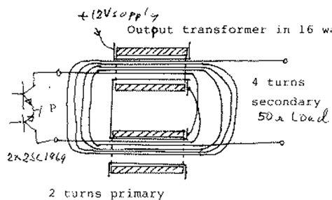 how to design ferrite inductor broad band ferrite transformers